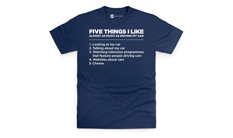 five things i like tee from Shot Dead in the Head