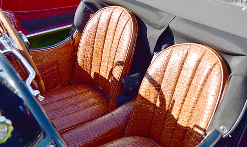 alligator-seats
