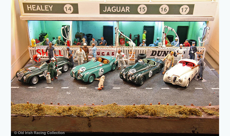 50s-lm-pit old irish racing collection