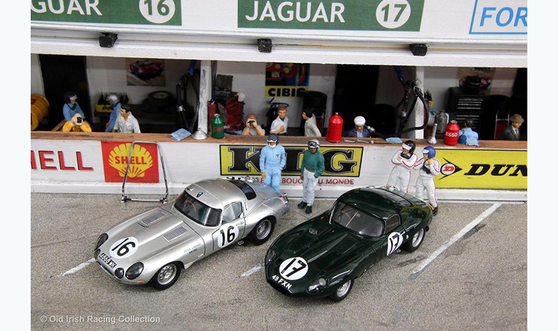 jaguar-lm-pits old irish racing collection