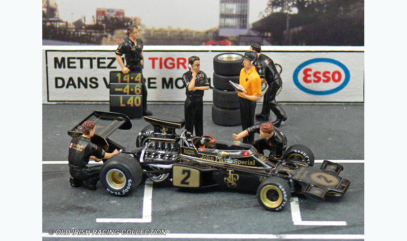 lotus-72 old irish racing collection