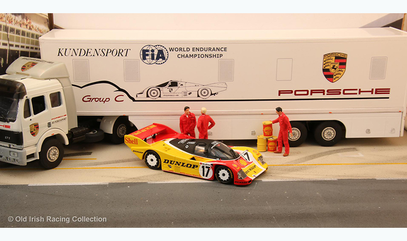 porsche-transporter old irish racing collection
