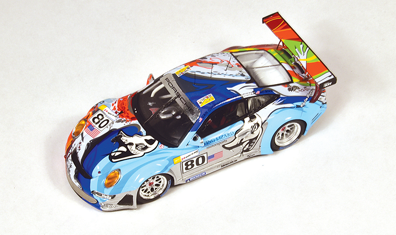 spark porsche 911 flying lizards lm07