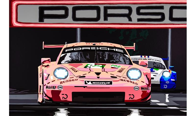 pink pig by joel clark