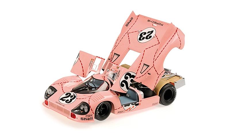 minichamps porsche 917-20 practice  pink pig 1-18th scale