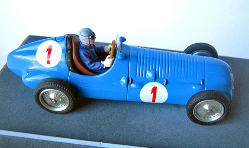 Bugatti Type 59 Jean Pierre Wimille