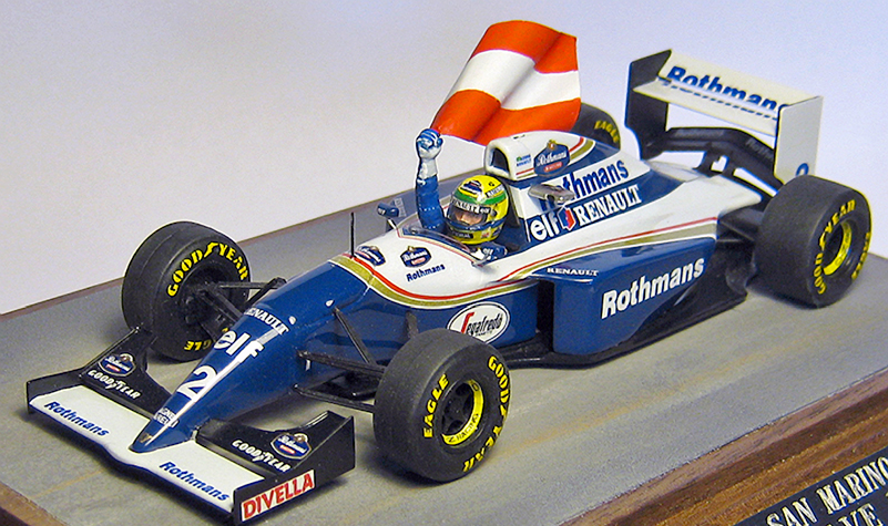 williams fw14 ayrton senna