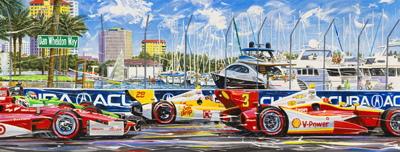 Dan Wheldon Way St Pete 2013
