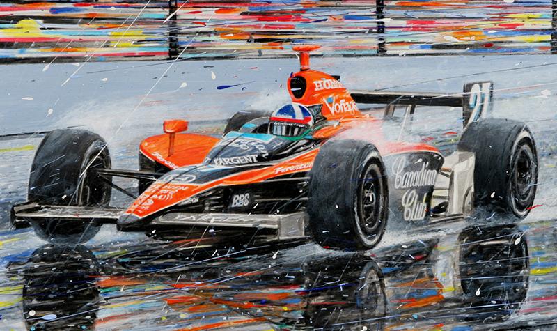 Franchitti Indy 500