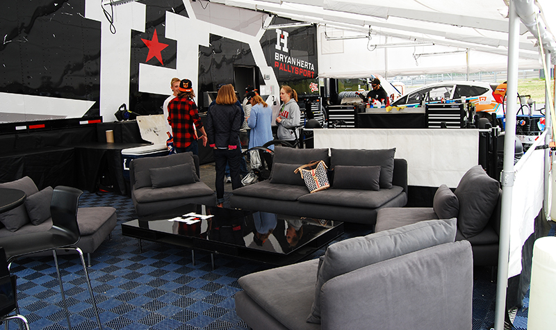 voted best lounge area