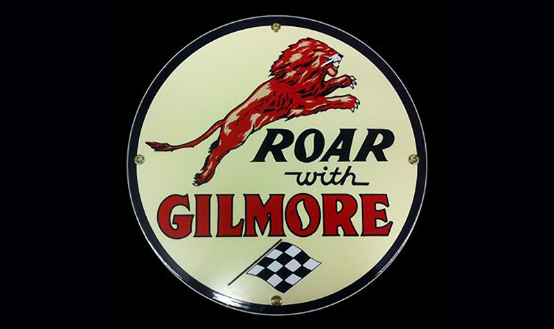 gilmore ceramic/steel sign by garageart.com