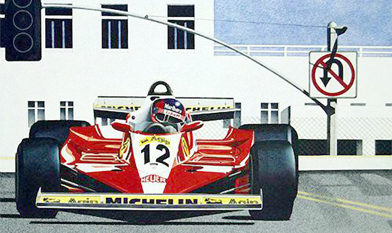 Gilles Out Front