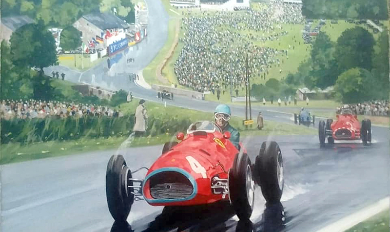 Ferrari at Spa