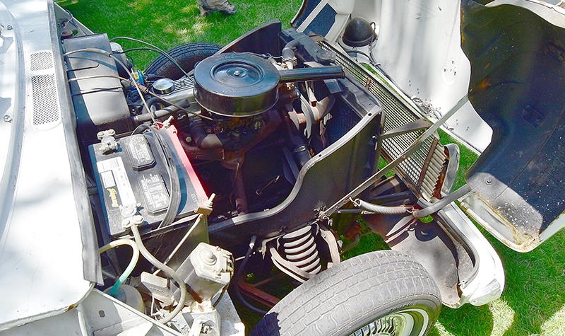 triumph herald engine