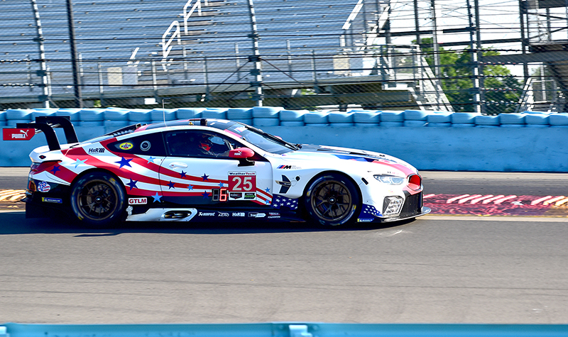 bmw team rll #25, sahlen's  six hours of the glen 2018