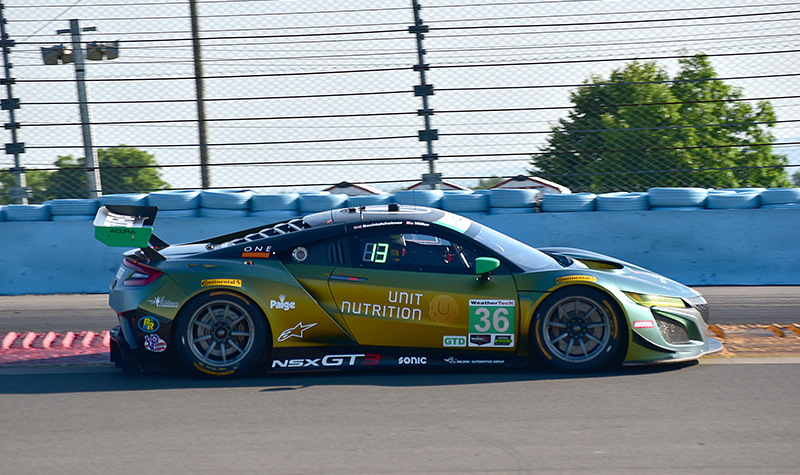 cj wilson racing acura nsx  #36  sahlen's  six hours of the glen 2018
