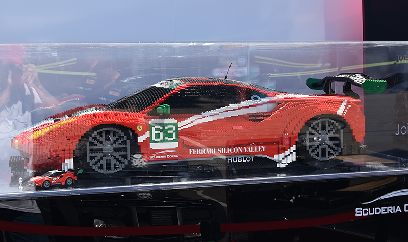 lego ferrari,  sahlen's  six hours of the glen 2018