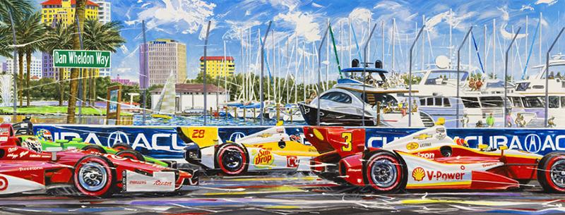 motorsport art by randy owens serigraphs theracerhead.com