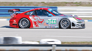 flying lizards porsche 911 at sebring 2011