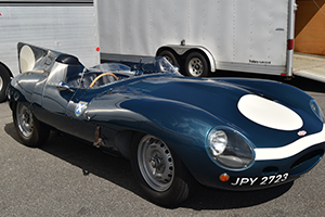 d jaguar at the 2020 lime rock park historic festival