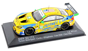 minichamps turner motorsport bmw m6 1/43